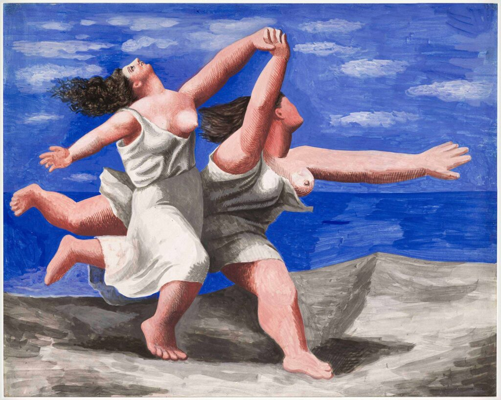 Pablo Picasso, Two Women Running on the Beach, 1922.